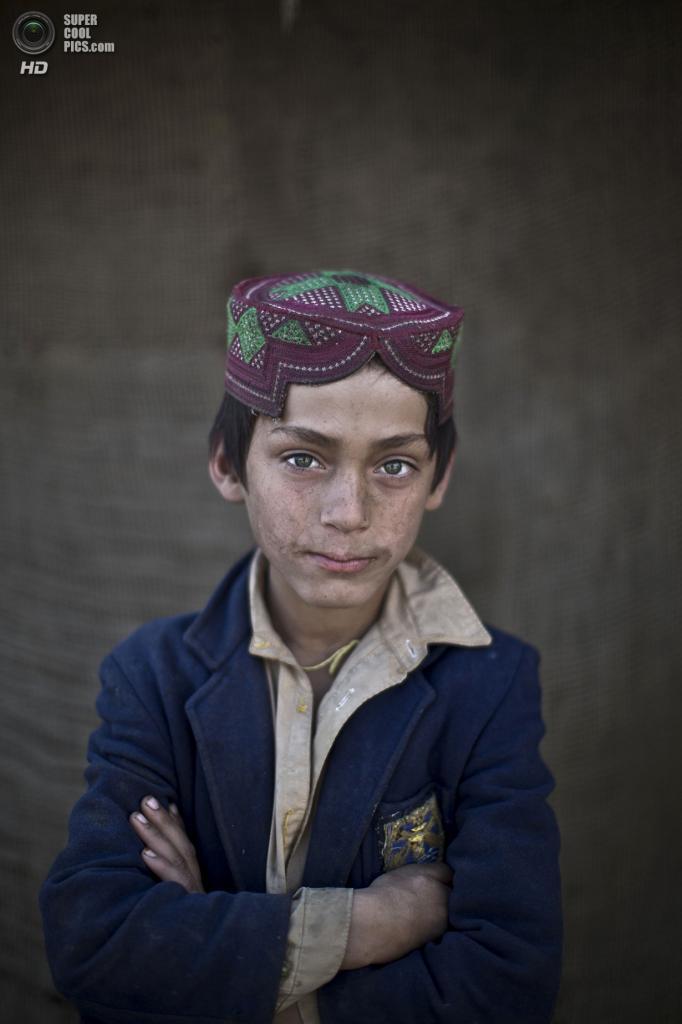 Ибрагим Рахис, 8 лет. (AP Photo/Muhammed Muheisen)