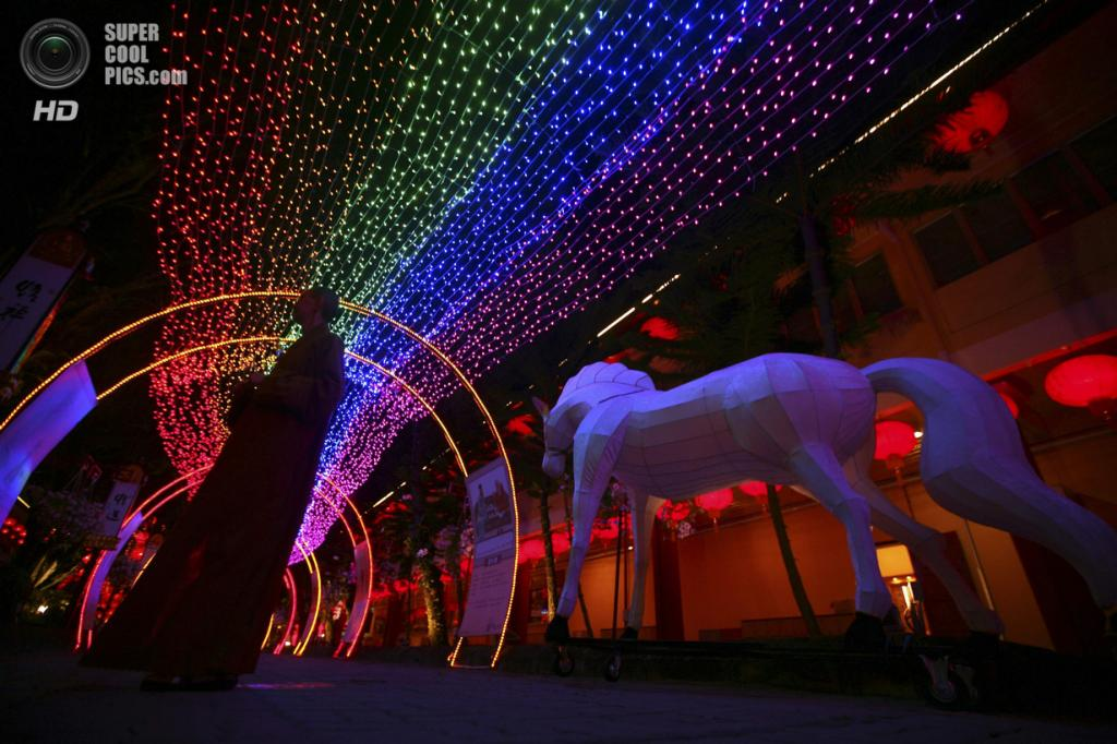 Малайзия. Куала-Лумпур. 29 января. В преддверии Китайского Нового года. (REUTERS/Samsul Said)