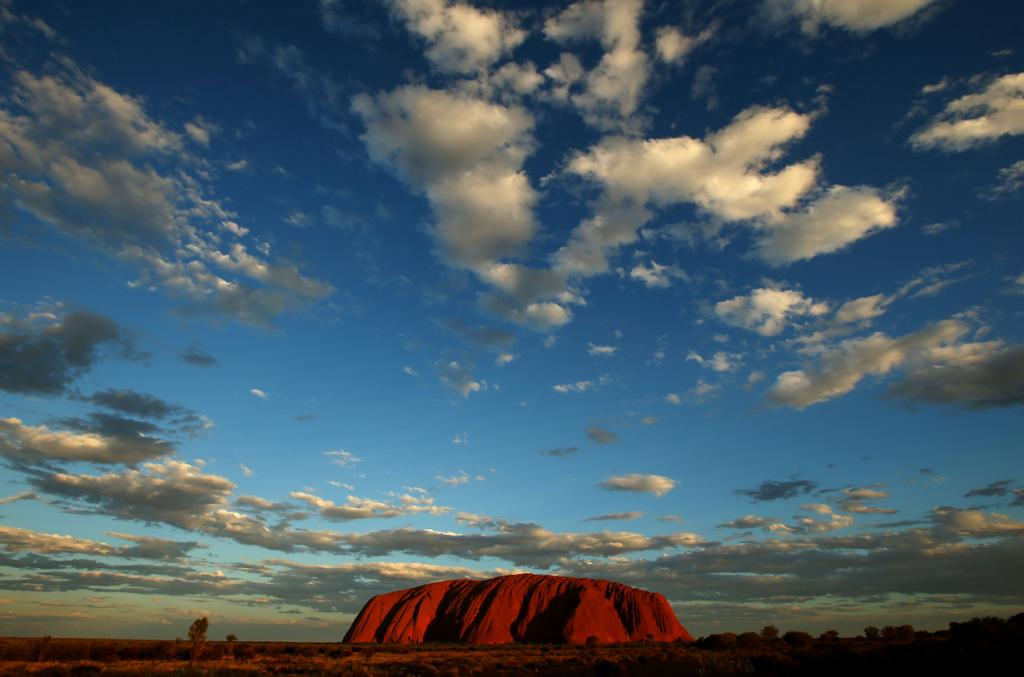 Путешествие по Австралии. Скала Улуру (12 фото)