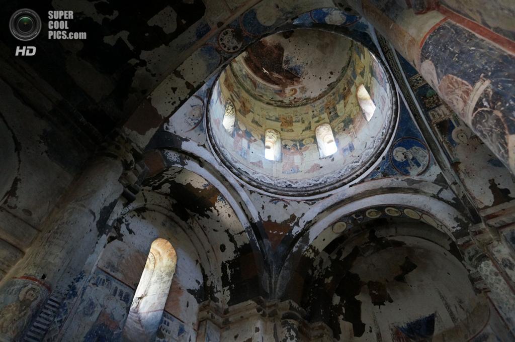 Турция. Ани, Карс. 4 июня 2013 года. Фрески Церкви Святого Григория. (MrHicks46)