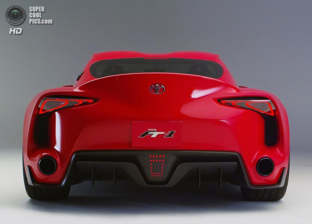 Toyota FT-1 Concept. (Toyota)