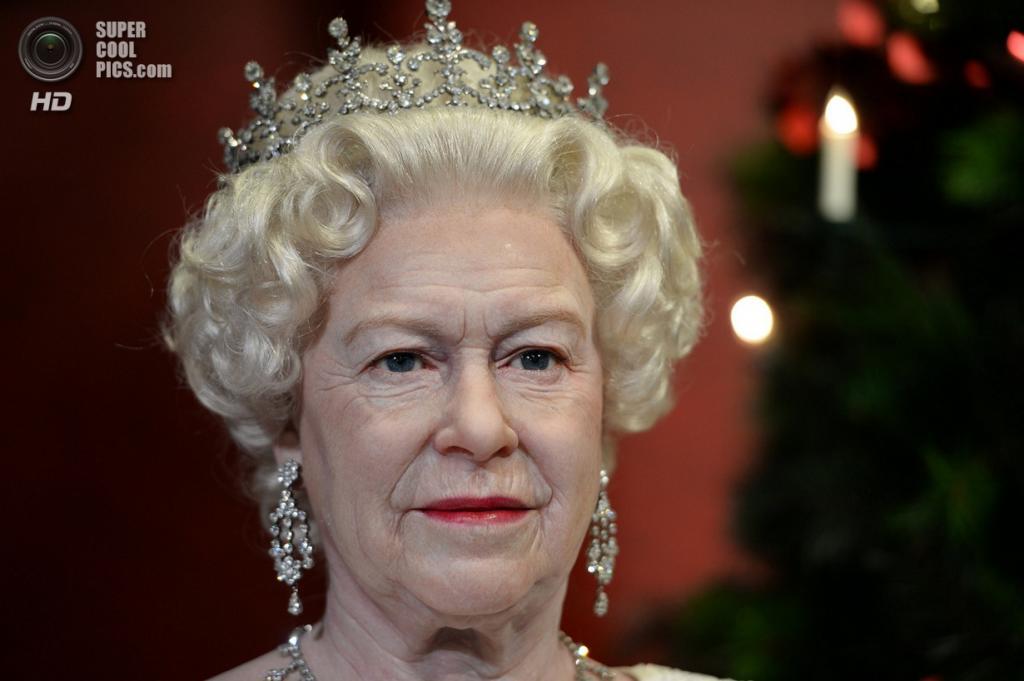 Австралия. Сидней. Восковая фигура Елизаветы II. (Saeed Khan/Getty Images)