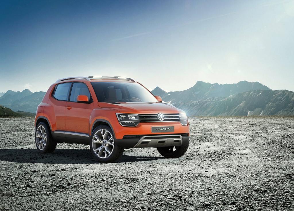Volkswagen Taigun Concept. (Volkswagen AG)