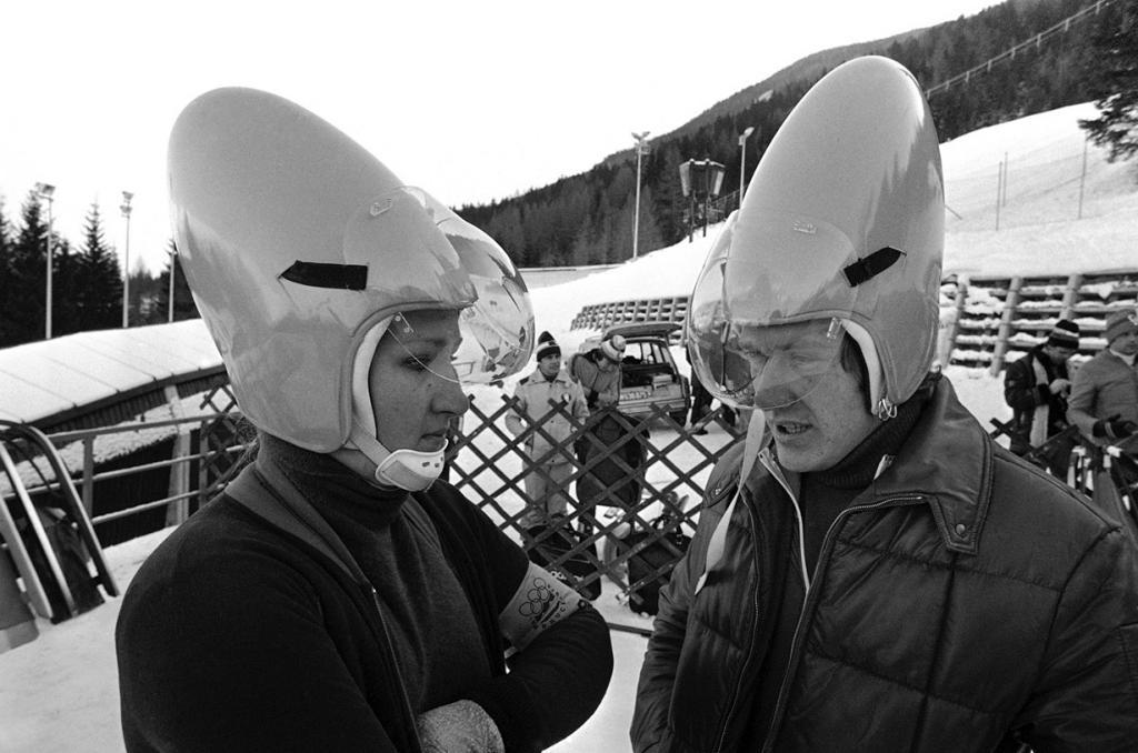Взгляд в прошлое: 12 первых Олимпийских зимних игр (43 фото)