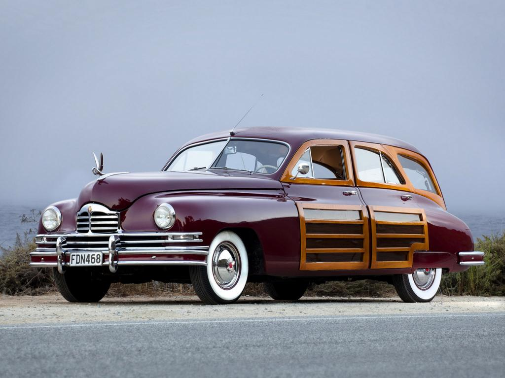 Packard Standard Eight Station Sedan. (RM Auctions)
