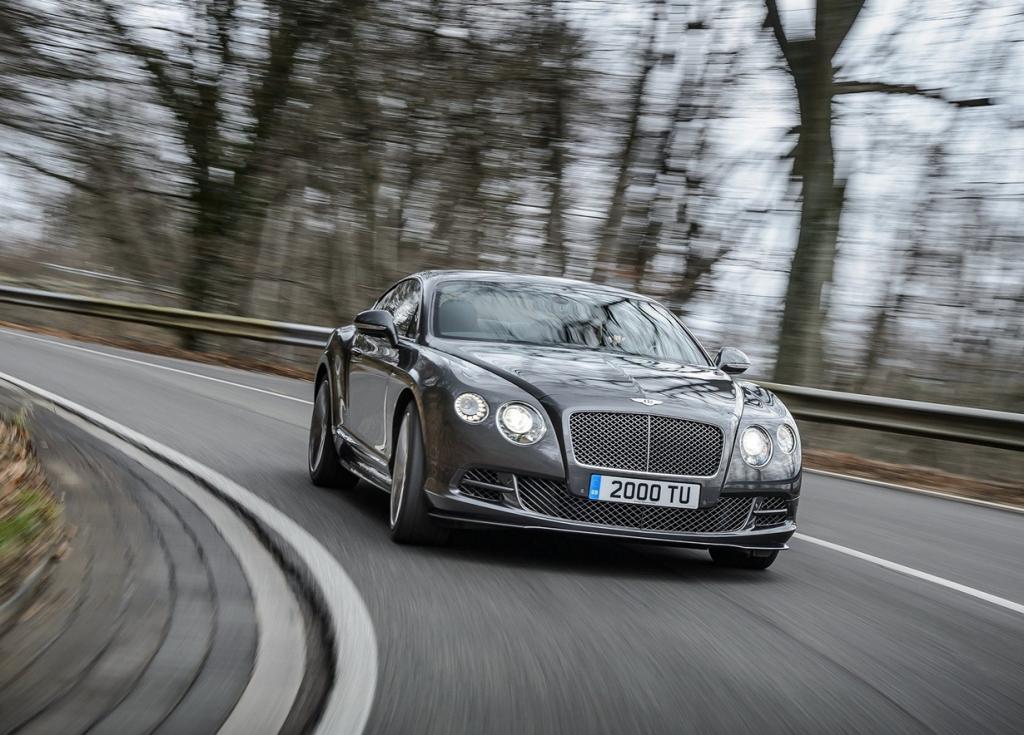 Самый быстрый Bentley (12 фото)