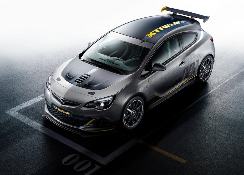 Экстремальный спорткар на базе Opel Astra (9 фото)