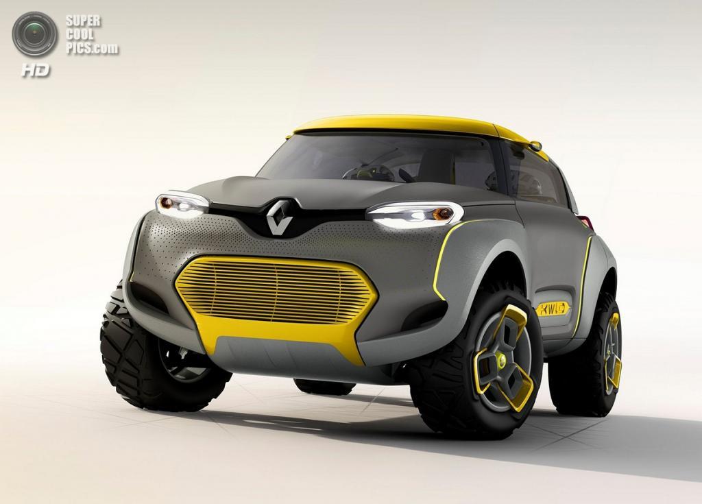 Renault Kwid Concept. (Renault S.A.)