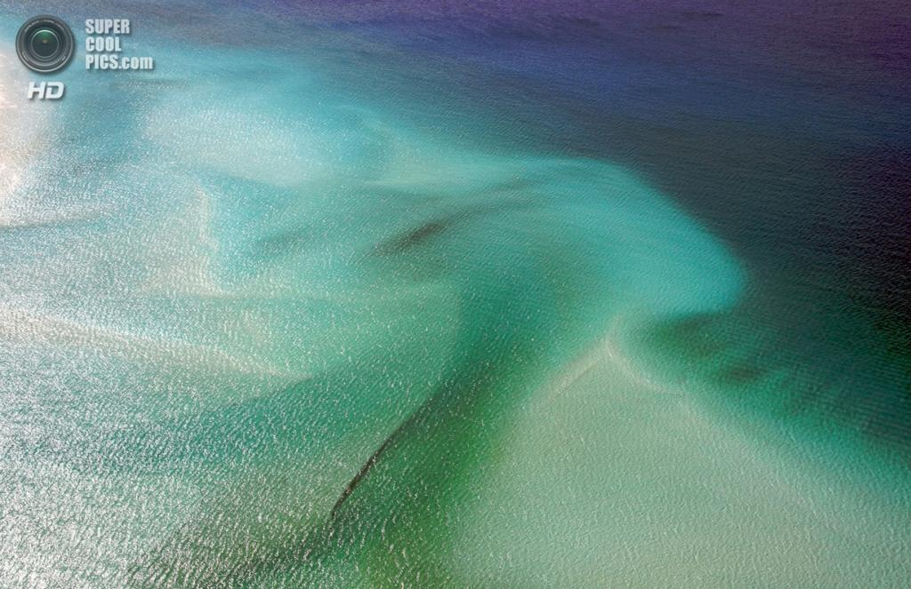 Австралия. Архипелаг Уитсанди. Островов Витсандей. Уайтхэвен-Бич. (Gregor Lichtfuss)