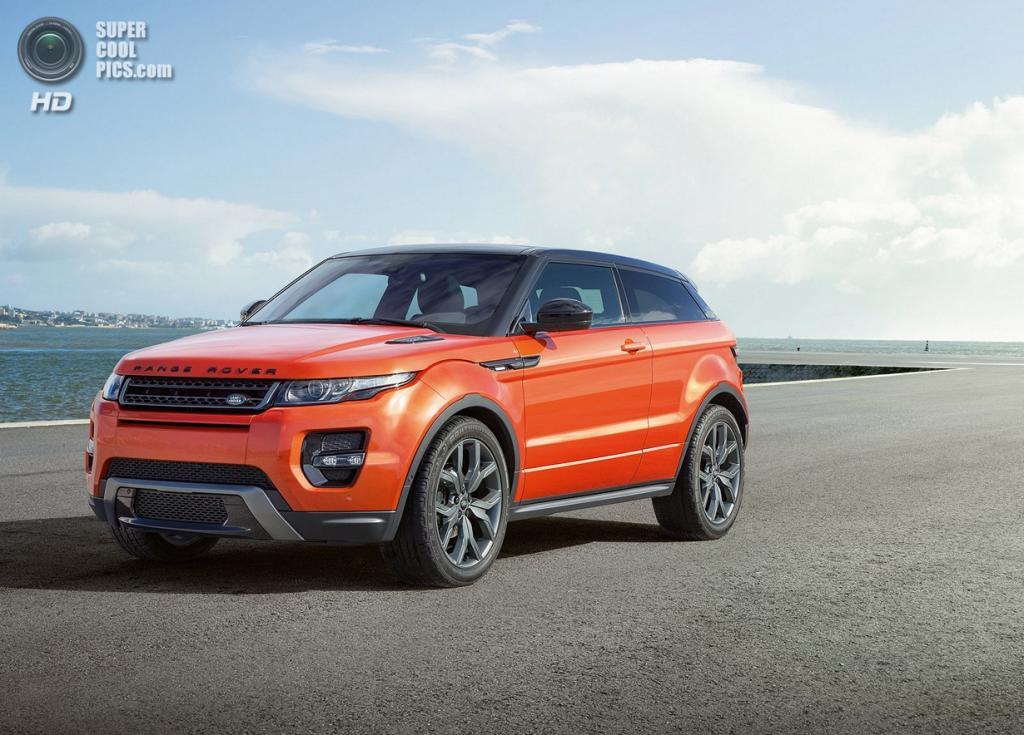Land Rover Range Rover Evoque Autobiography Dynamic. (Jaguar Land Rover)