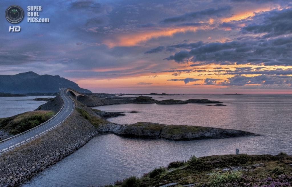 Норвегия. Мёре-ог-Ромсдал. Атлантическая дорога. (Alexander Koch)