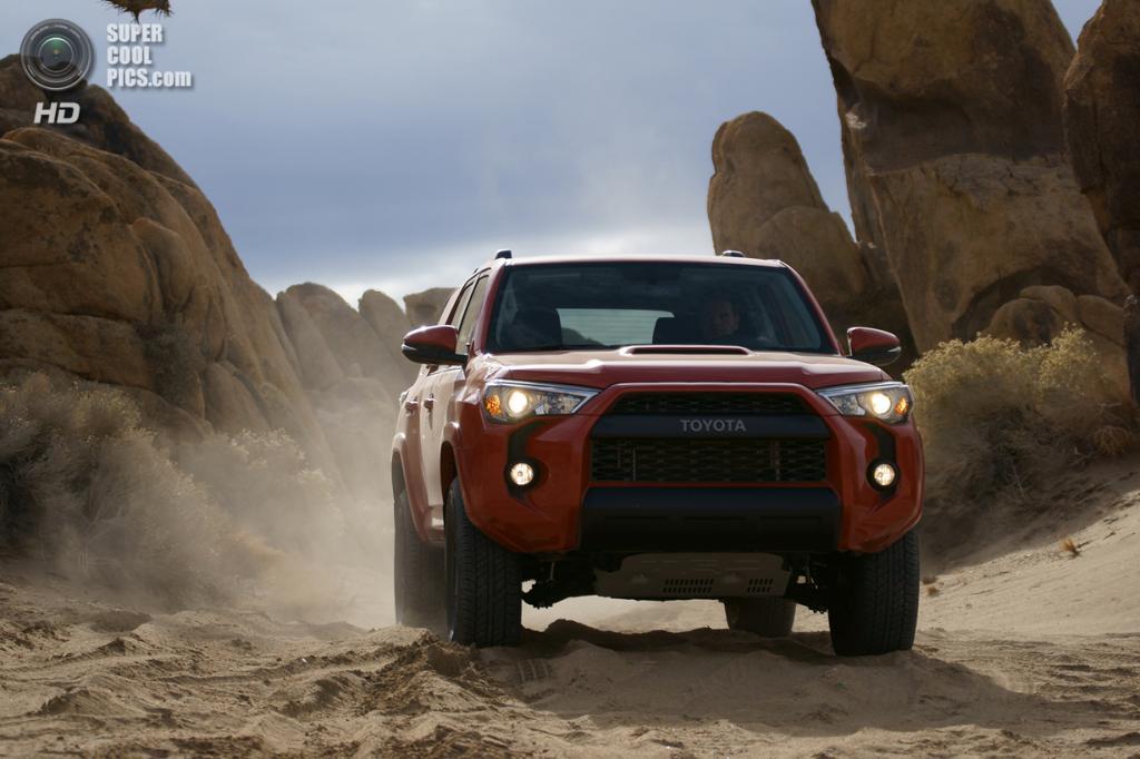 Toyota 4Runner TRD Pro Series. (Toyota Motor Corporation)