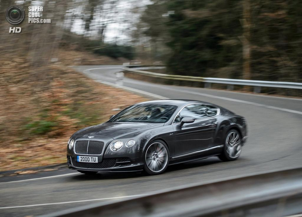Bentley Continental GT Speed. (Bentley Motors)