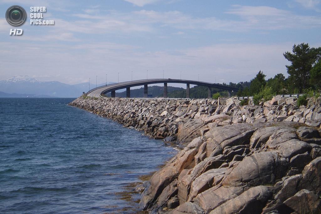 Норвегия. Мёре-ог-Ромсдал. Атлантическая дорога. (Yu-Keng Shih)