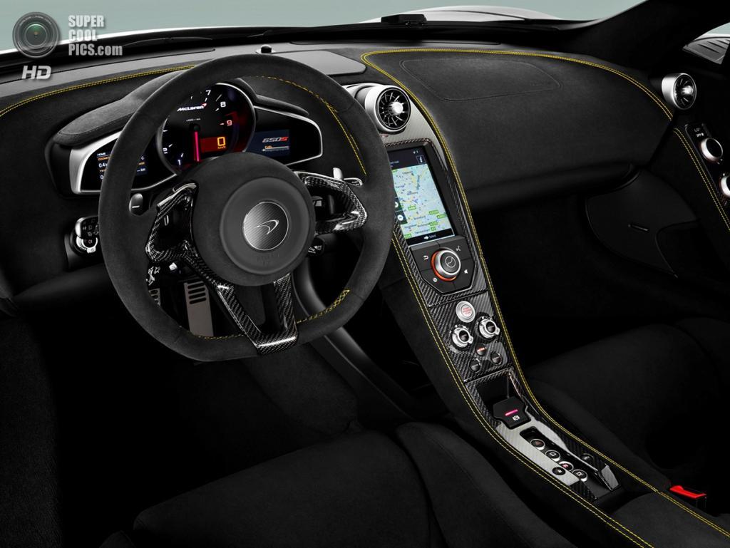McLaren 650S Coupé. (McLaren Automotive Limited)