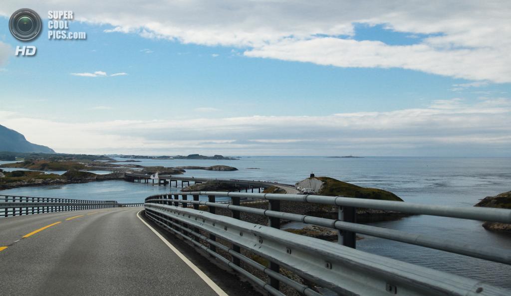 Норвегия. Мёре-ог-Ромсдал. Атлантическая дорога. (Johan Bichel Lindegaard)