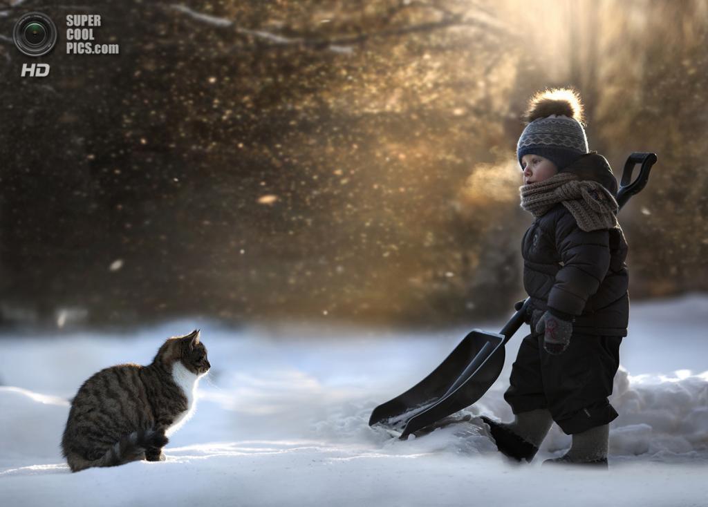 Winter mood. (Elena Shumilova)