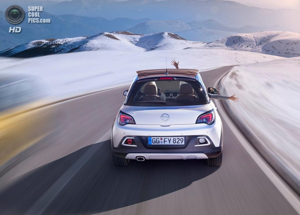 Opel Adam Rocks. (General Motors)