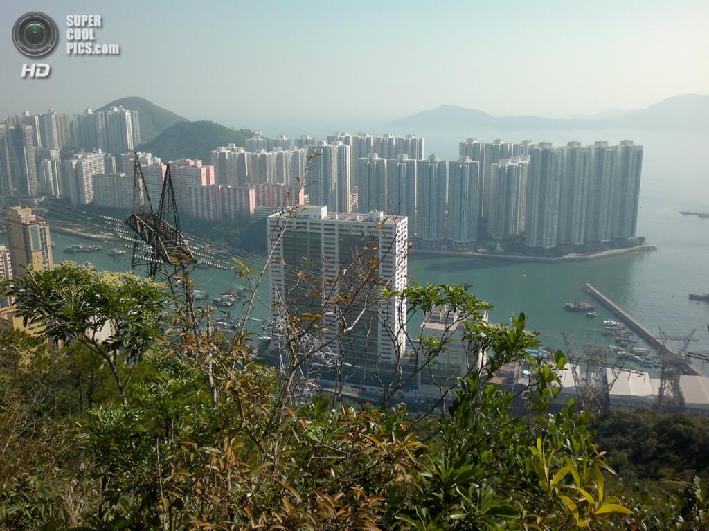 Остров Аплэйчау в Гонконге, Китай. Население: 86 782 чел. Площадь: 1,32 км². Плотность населения: 66 755 чел./км². (Ceeseven)