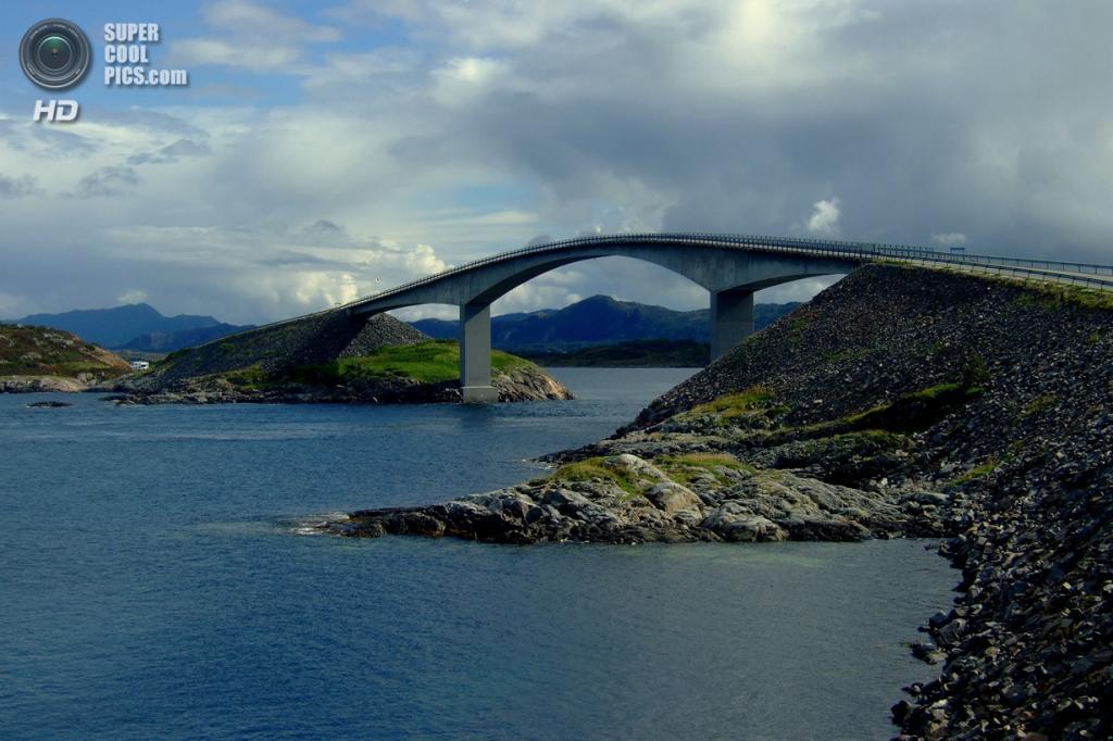 Норвегия. Мёре-ог-Ромсдал. Атлантическая дорога. (Elizabeth Gomm)