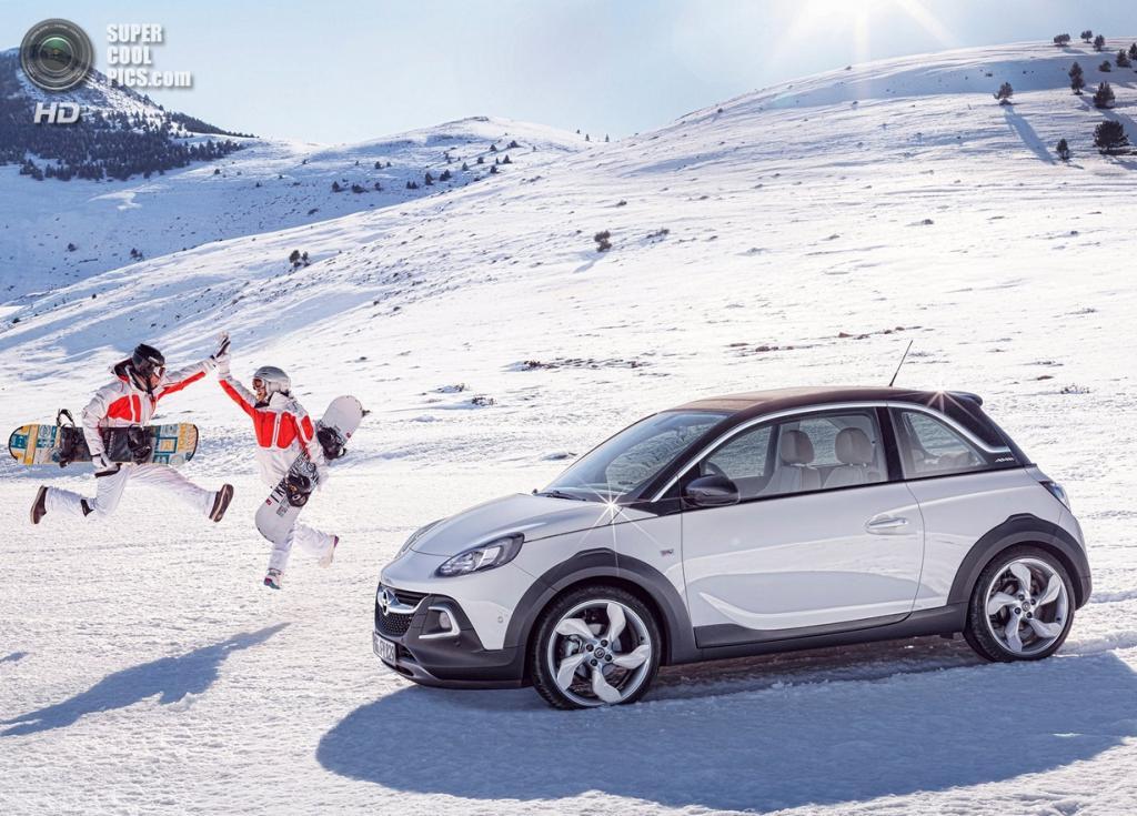 Opel Adam Rocks. (General Motors)