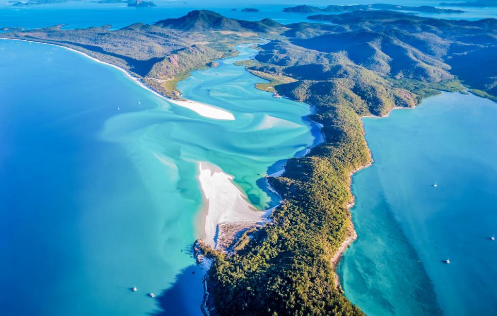 Путешествие по Австралии. Уайтхэвен-Бич (10 фото)