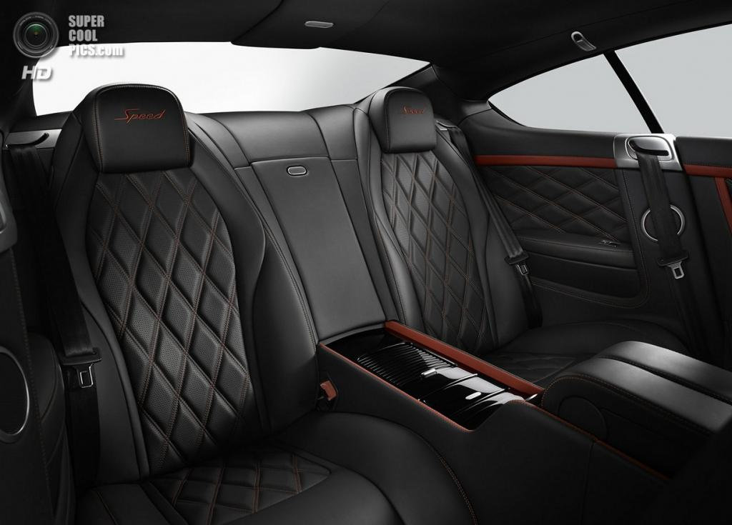 Bentley Continental GT Speed. (Bentley Motors)