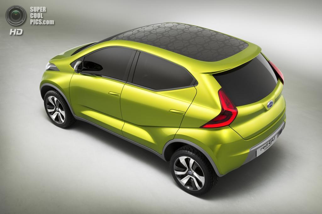 Datsun redi-GO Concept. (Nissan Motor Company)