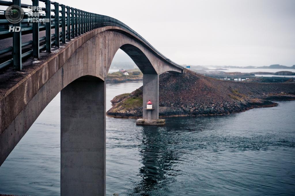 Норвегия. Мёре-ог-Ромсдал. Атлантическая дорога. (Roman Königshofer)