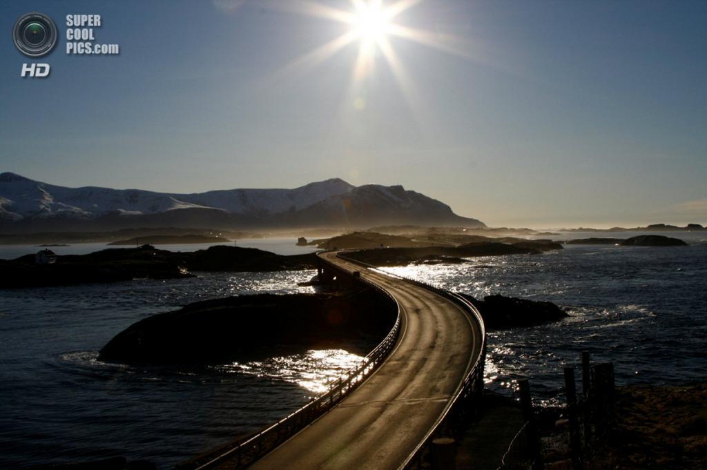Норвегия. Мёре-ог-Ромсдал. Атлантическая дорога. (Petter Haavin)