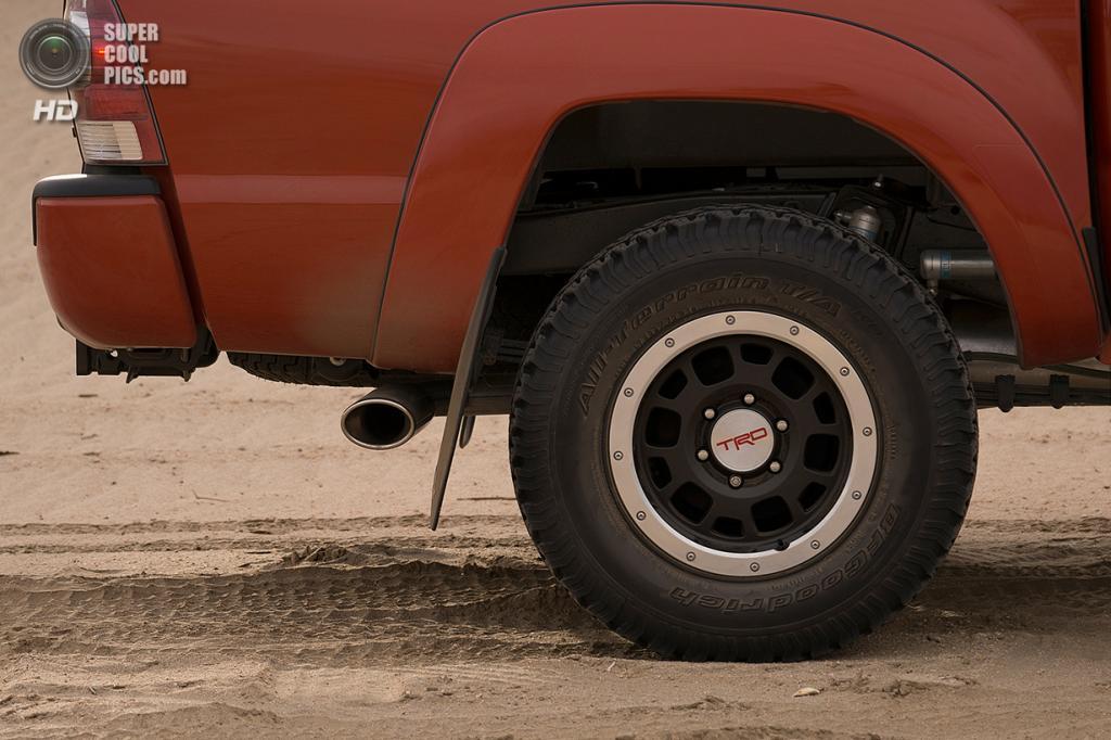 Toyota Tacoma TRD Pro Series. (Toyota Motor Corporation)
