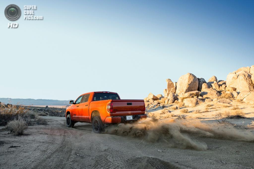 Toyota Tundra TRD Pro Series. (Toyota Motor Corporation)