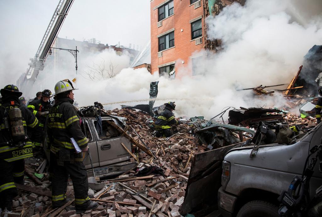 Взрыв в Нью-Йорке. Есть жертвы (20 фото)