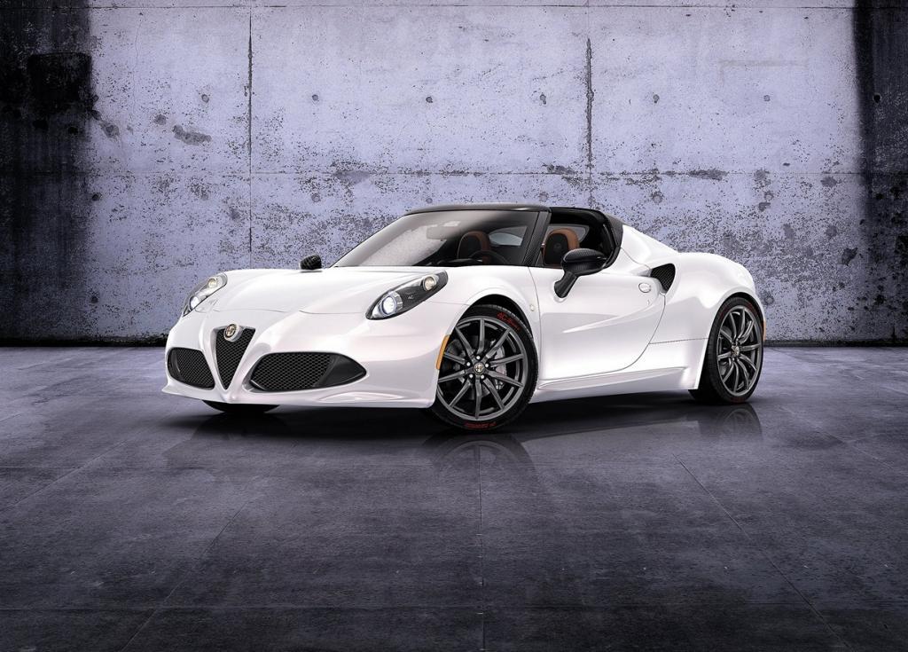 Alfa Romeo 4C в концептуальной спайдер-версии (6 фото)