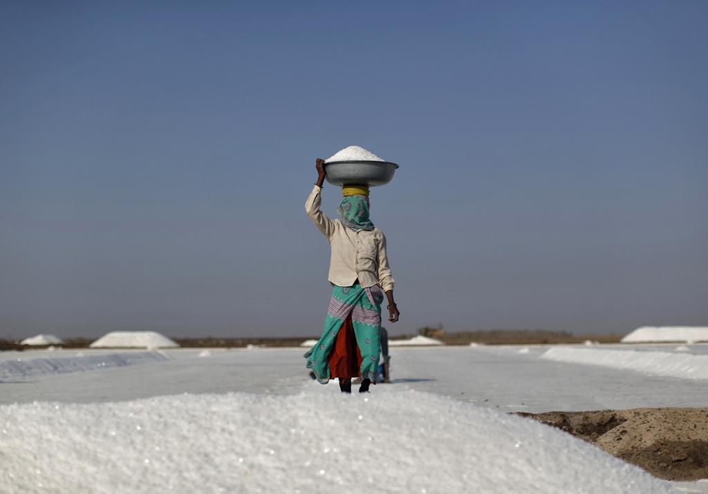 Соляные поля в Большом Качском Ранне (12 фото)