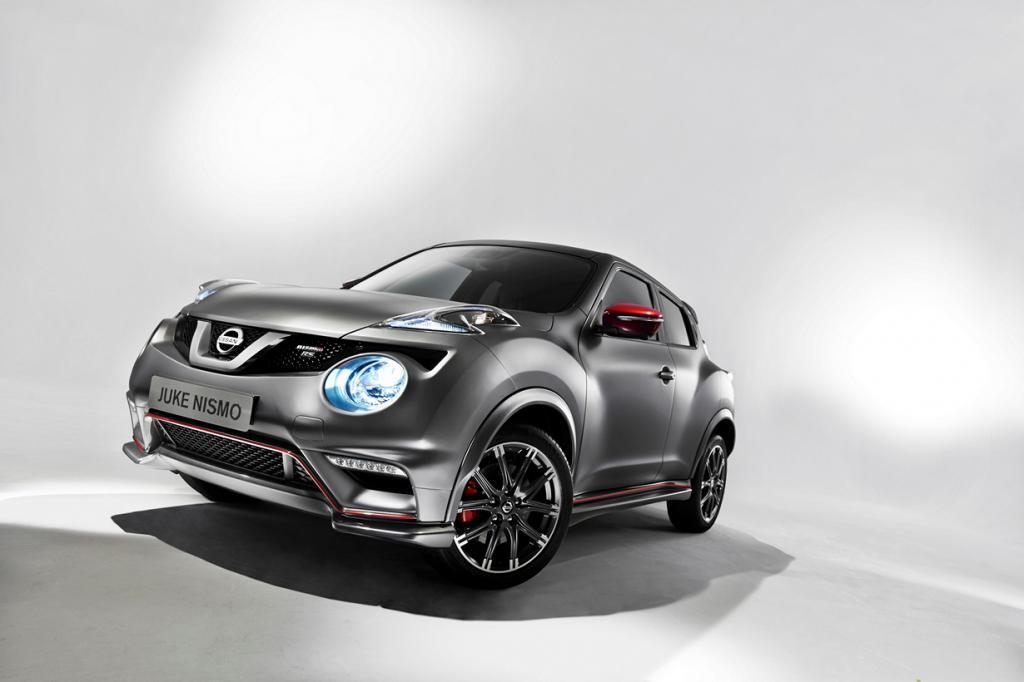 Nissan Juke в версии Nismo RS: Ещё больше «лошадей» (16 фото)