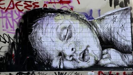 Афины превратились в столицу стрит-арта (14 фото)
