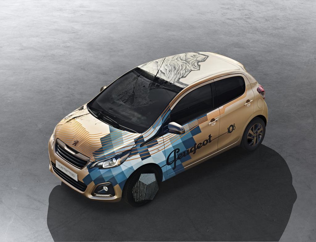 Автомобиль с татуировкой льва (7 фото)