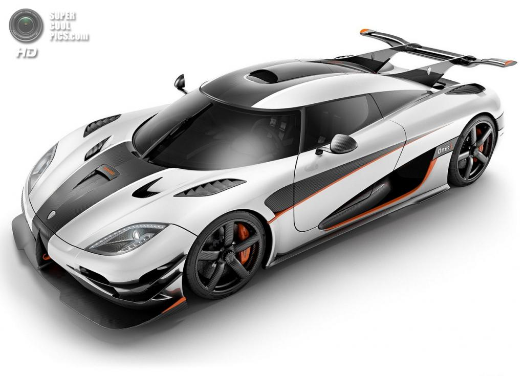 Koenigsegg One:1. (Koenigsegg Automotive AB)