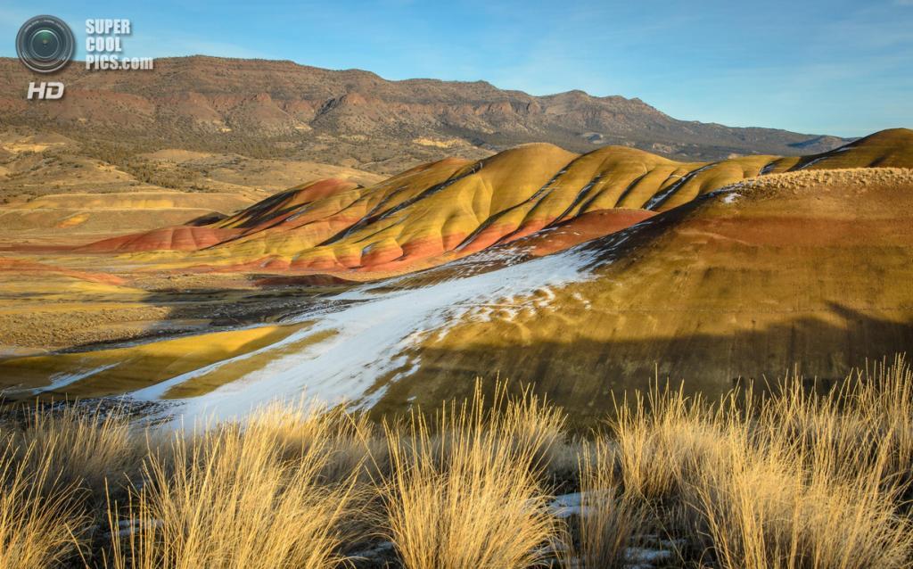 США. Орегон. «Пейнтед-Хиллс» в Государственном заповеднике John Day Fossil Beds. (Kathy Mitchell Lowery)