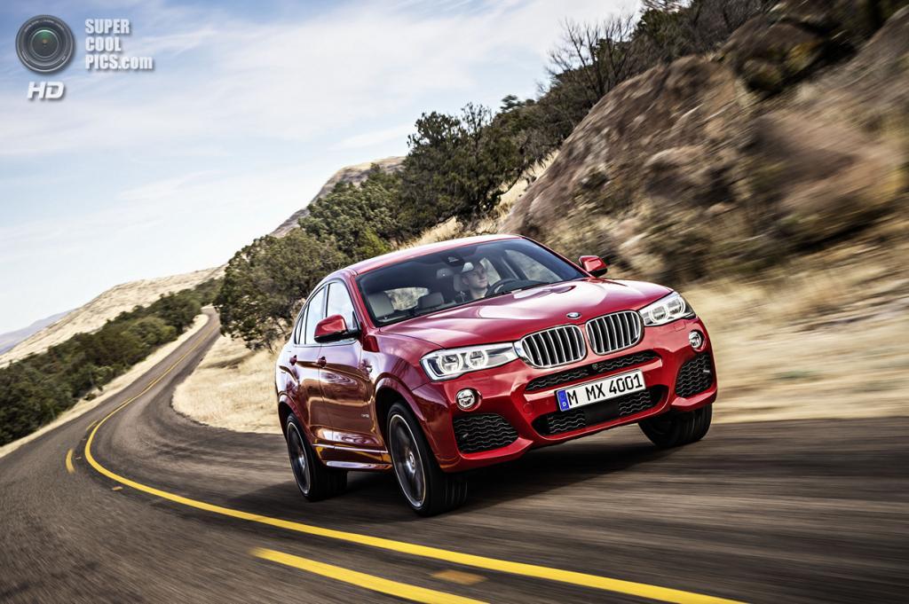 BMW X4. (BMW AG)