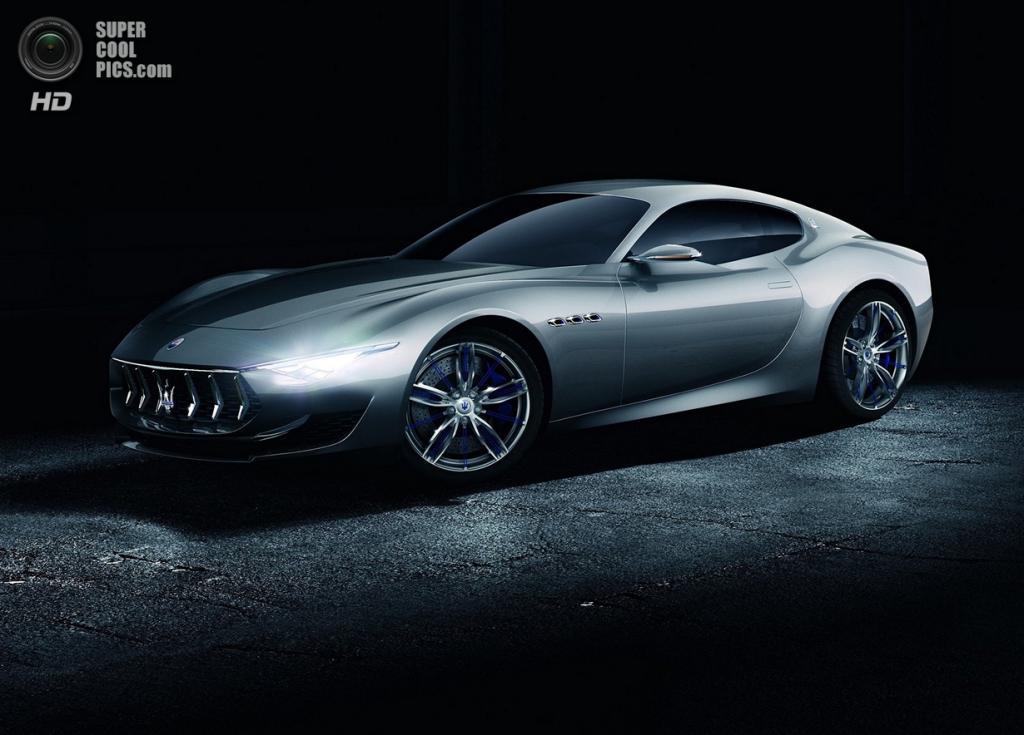 Maserati Alfieri Concept. (Maserati S.p.A.)