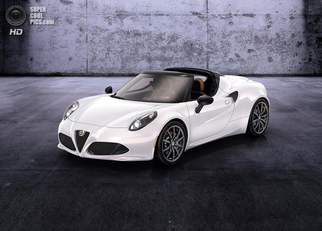 Alfa Romeo 4C Spider Concept. (Alfa Romeo Automobiles S.p.A.)
