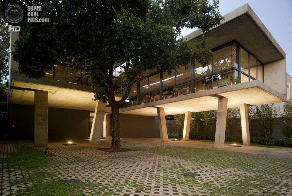 Южная Африка. Претория. Здание Floating in Space, спроектированное W Design Architecture Studio. (Jamie Thom)