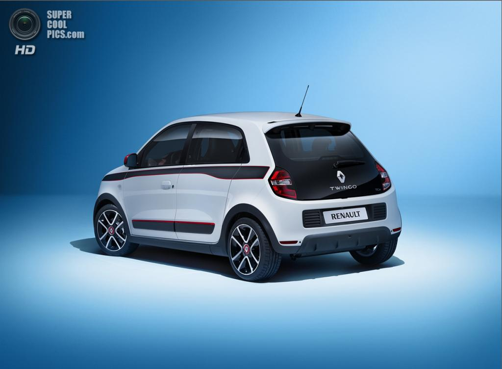 Renault Twingo. (Renault S.A.)