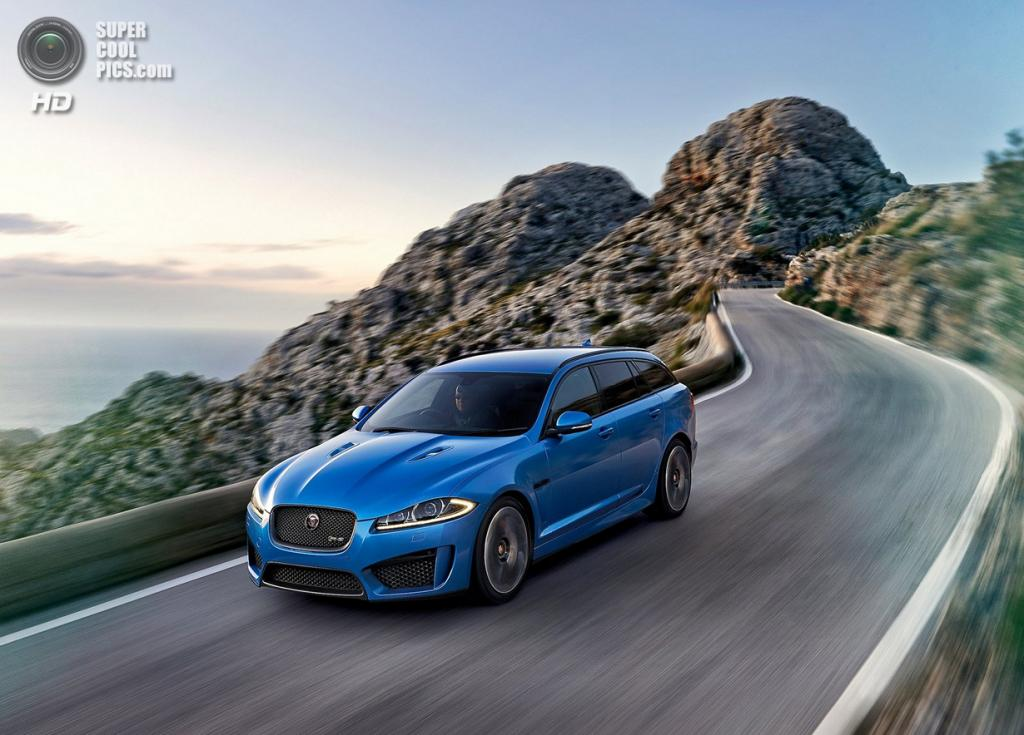 Jaguar XFR-S Sportbrake. (Jaguar Land Rover)