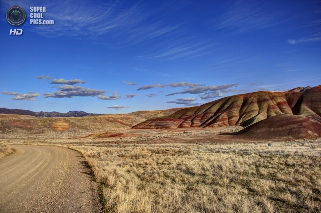 США. Орегон. «Пейнтед-Хиллс» в Государственном заповеднике John Day Fossil Beds. (Kaushik Barat)