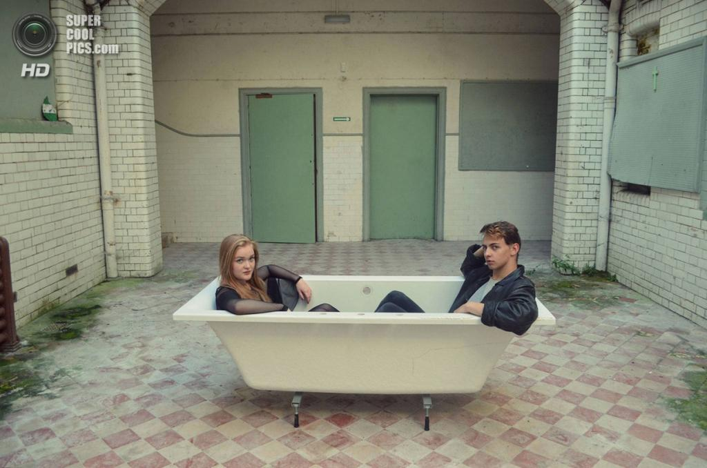 «Хорошие друзья делят ванную». (Amy Chapman/ESRC)