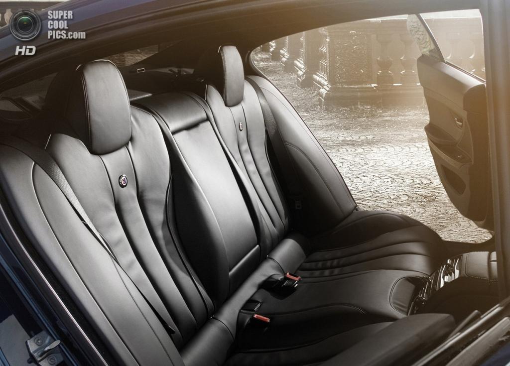 BMW ALPINA B6 BITURBO Gran Coupé. (ALPINA Burkard Bovensiepen GmbH)