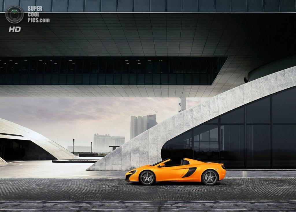 McLaren 650S Spider. (McLaren Automotive Limited)